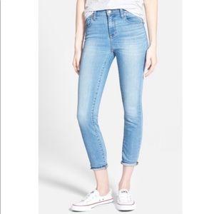 Madewell High Riser Crop Skinny Jeans